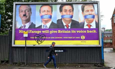 Nigel Farage claimed he spoke for ordinary voters