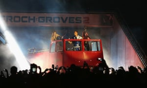 George Groves makes an understated entrance.