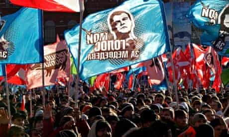 Nashi rally, Moscow, December 2011