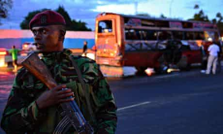 Bus bombing in Nairobi leaves at least three dead