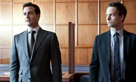 Harvey Specter and Mike Ross in TV series Suits (2011)