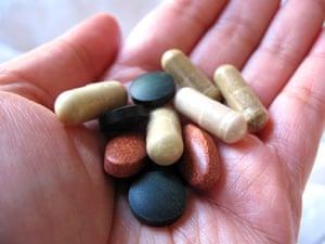 Handful of pills
