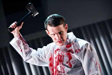 Matt Smith as Patrick Bateman in American Psycho.