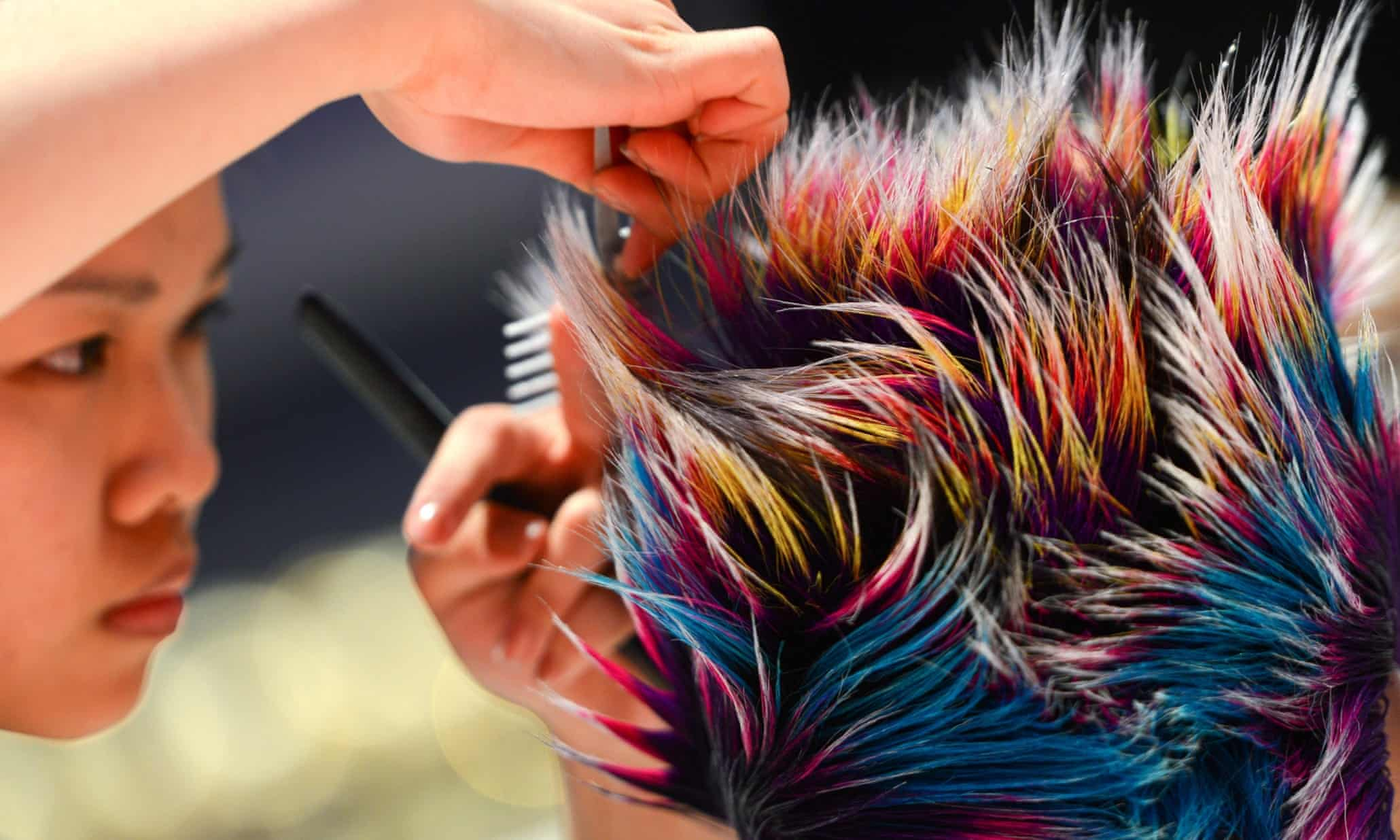 World Hairdressing Championships - in pictures