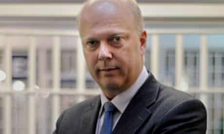 Chris Grayling, the justice secretary