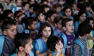 Lebanon refugee school