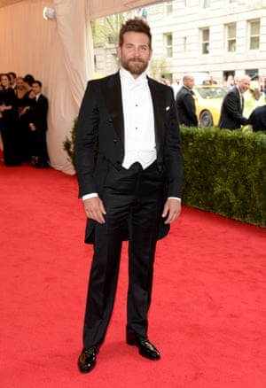 """Bradley Cooper attends The Metropolitan Museum of Art's Costume Institute benefit gala celebrating """"Charles James: Beyond Fashion"""" on Monday in New York."""