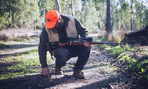Rohan Anderson on the hunt for deer