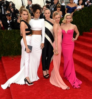 Cara, Rihanna, Stella, Kate, Reese