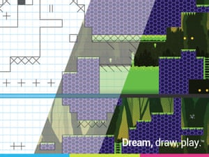 Pixel Press Floors: draw your own games.
