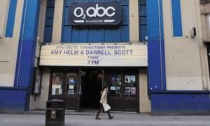 O2 ABC, Glasgow