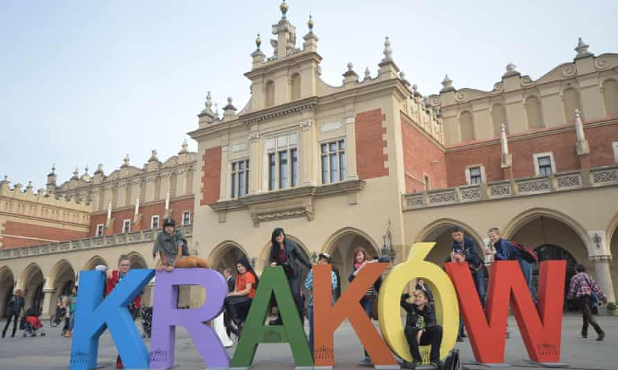 Kraków in Poland was European City of Culture in 2000.