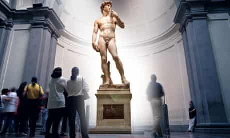David by Michelangelo at the Accademia Gallery