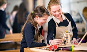 Hayesfield pupils Phoebe Scott Melissa Larcombe