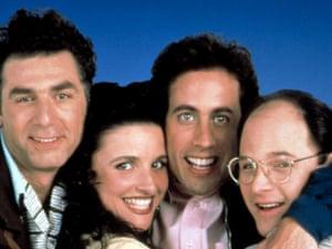 Seinfeld - Michael Richards, Julia Louis-Dreyfus, Jerry Seinfeld and Jason Alexander