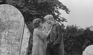 The filming of Entertaining Mr Sloane at Camberwell Old Cemetery