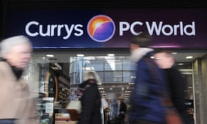 Currys and PC World owner Dixons close to merger with Carphone Warehouse. Photo: , Andy Rain/epa/Corbis