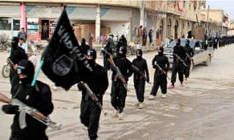 Fighters from the al-Qaida-linked Islamic State of Iraq and the Levant