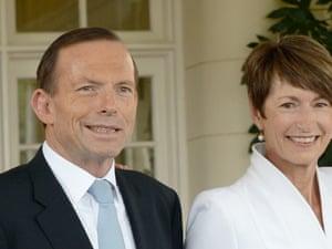 Tony Abbott and Margie Abbott.
