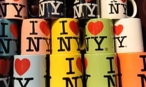 The 'I (heart) NY' logo dates back to the 70s.