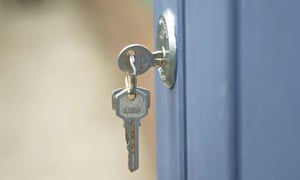 Key in Doorlock