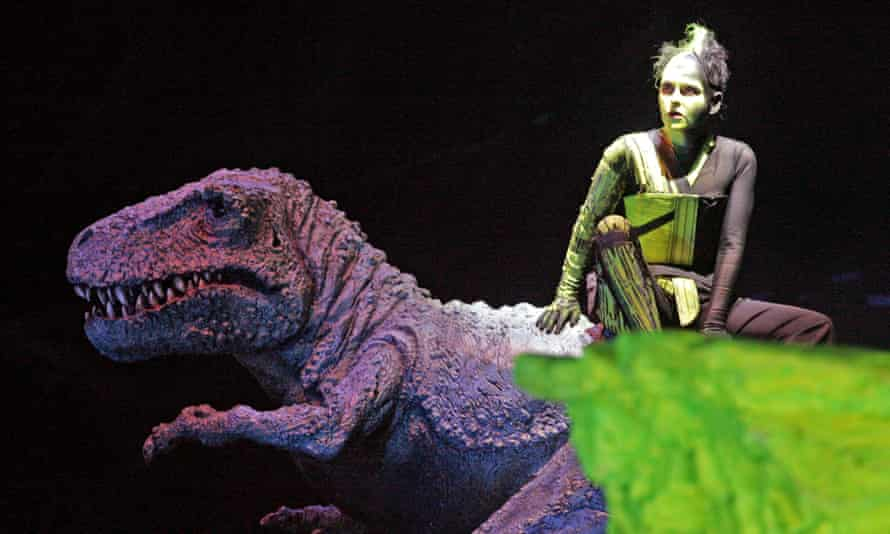 Cyndia Sieden as Ariel in The Tempest, Royal Opera House, 2007.
