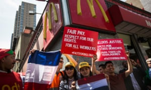 Fast-food protests