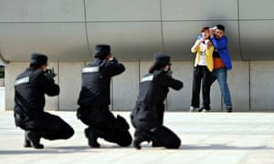 Zhengzhou anti-terror drill