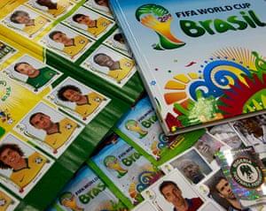 panini: FIFA's Brazil World Cup soccer stickers and album