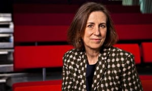 Kirsty Wark, presenter of Blurred Lines: The New Battle of the Sexes
