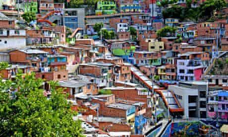 Comuna 13 escalator