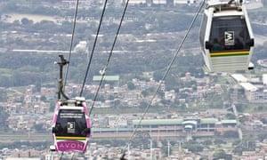 Medellín' Metrocable system