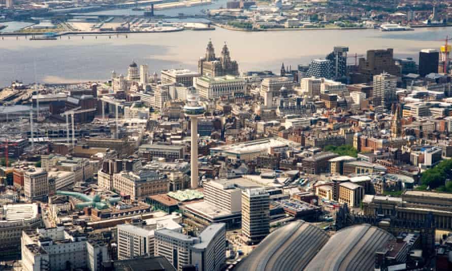 Liverpool city centre.