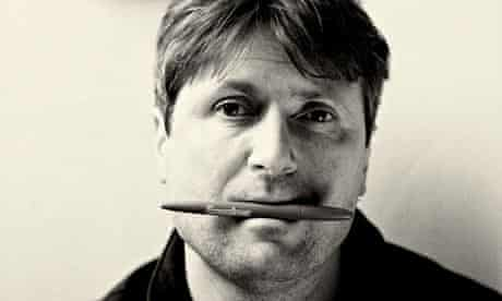 Simon Armitage during rehearsals for The Last Days of Troy