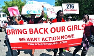 Bring Back Our Girls Protest At Nigerian Embassy
