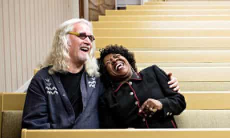 'Sublimely rewarding': Billy Connolly meets the owner of an LA funeral  parlour in ITV's Big Send Of