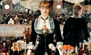 A Bar at the Folies Bergere, by Edouard Manet