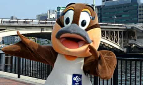 Moppy the mascot