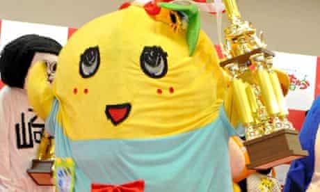 Funassyi the Japanese mascot