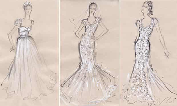 Wedding dresses composite