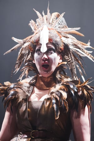 Laure Meloy  as Hebuba in ETO 2014 production of Tippett's King Priam.