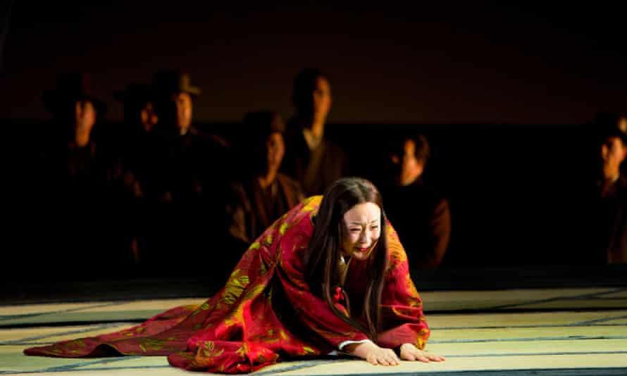 Hye-Youn Lee as Cio-Cio San, Madama Butterfly, Scottish Opera, 2014.