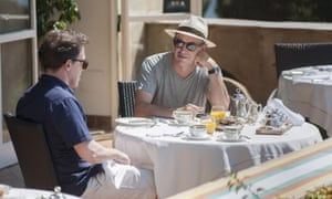 Italo-chic: Rob Brydon and Steve Coogan in The Trip To Italy