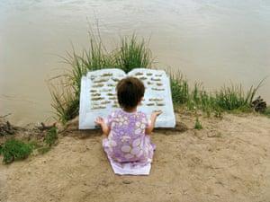 Cleo reading Tome II, 2009.