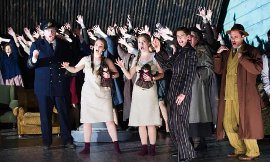 Britten's Peter Grimes at English National Opera in their 2014 revival of David Alden's production