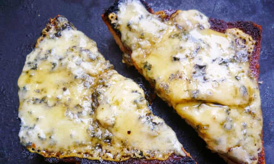 Leftover cheese recipe: stilton and honey tartine