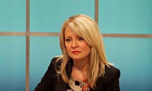 Tory employment minister Esther McVey' on Good Morning Britain' TV Programme, London,
