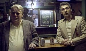Philip Seymour Hoffman, left, with John Turturro in God's Pocket.