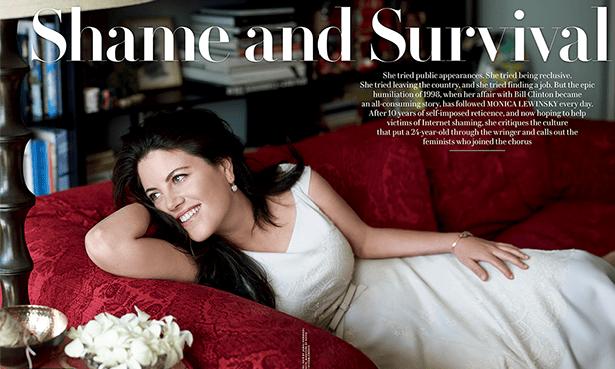 Monica Lewinsky Vanity Fair spread