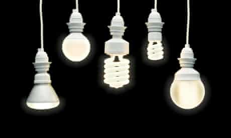 energy saving lightbulbs home